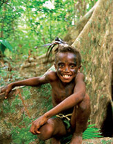 Native boy on Vanuatu